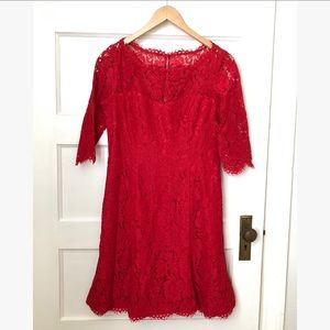 Eliza J MIdi lace Dress